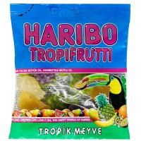 پاستیل هاریبو مدل میوه های استوایی 80گرم Haribo