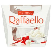 شکلات نارگیلی با مغز بادام ۱۵۰ گرم رافائلا raffaello