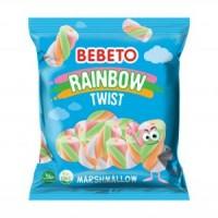 مارشمالو ببتو 135 گرم مدل Rainbow Twist