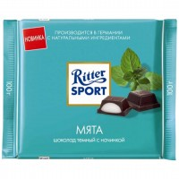 شکلات ریتر اسپرت نعنایی 100 گرمی Ritter Sport