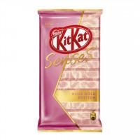شکلات کیت کت سنسز شکلات سفید و صورتی 112 گرمی Kitkat Rose Gold Edition