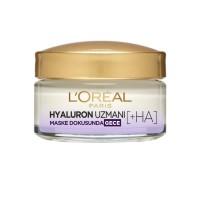 کرم شب آبرسان و مرطوب کننده لورآل حاوی هیالورونیک اسید 50 میلی لیترLoreal  Hyaluron