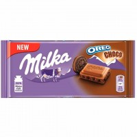 شکلات اورئو کاکائویی 100 گرمی میلکا Milka Oreo