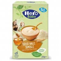 سرلاک شیر و گندم و عسل هیرو بیبی وزن 200 گرم Hero Baby