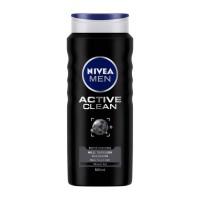 شامپو بدن مردانه نیوا 500میلی لیتر Nivea Men Shower Gel Active Clean