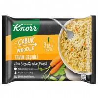 نودل آب مرغ و سبزیجات کنور Knorr