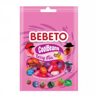 پاستیل ببتو میوه ای جیلی بیلی 60 گرم Bebeto Cool Beans Berry Mix
