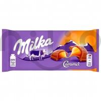 شکلات با مغر کارامل 100 گرمی میلکا Milka Caramel