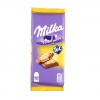 شکلات میلکا روسی با بیسکوئیت توک 87 گرمی Milka TUC