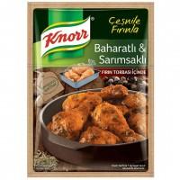 چاشنی سیردار ران مرغ کنور 37 گرم Baharatli Sarimsakli Knorr