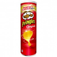 چیپس پرینگلز ساده 165 گرم