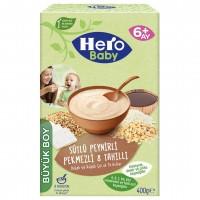 سرلاک هیرو بیبی با طعم پنیر، شیره انگور و شیر وزن 200 گرم Hero Baby