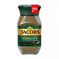 قهوه فوری جاکوبز مدل مونارک گلد 100 گرمی Jacobs Monarch Gold