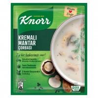 سوپ خامه و قارچ کنور 63 گرم Kremali Mantar Soup Knorr