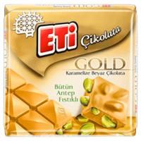 شکلات اتی گلد کاراملی با مغز پسته 60 گرمی