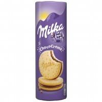 بیسکوئیت کرم شکلات دار میلکا 260 گرم Milka Choco Creme