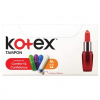 تامپون کوتکس مدل Mini تعداد 16 عددی Kotex Tampon Mini