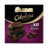 شکلات تلخ 80% اولکر Ulker Bitter