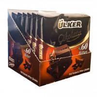 شکلات تلخ 60% اولکر بسته 6 عددی
