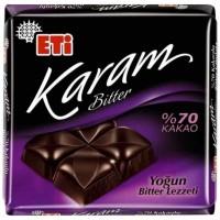 شکلات تلخ اتی کارام 70% Eti Karam