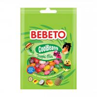 پاستیل ببتو میوه های استوایی جیلی بیلی 60 گرم Bebeto Cool Beans Tropic Mix