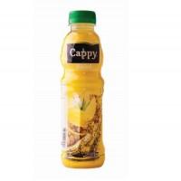 آبمیوه آناناس کاپی حاوی تکه های میوه 500 میلی لیتر Cappy