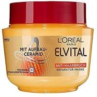 ماسک مو لورآل برای موهای شکننده و آسیب دیده 300 میلی لیتر  Loreal Elvital
