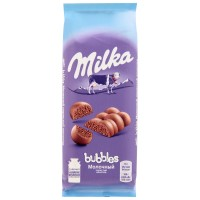 شکلات میلکا روسی حبابی 80 گرمی Milka bubbles
