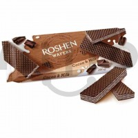 ویفر روشن کاکائویی شیری 144 گرمی Roshen Wafers Cocoa and Milk