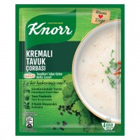 سوپ مرغ خامه ای کنور 65 گرم Kremali Tavuk Soup Knorr