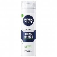 فوم اصلاح مردانه نیوآ مدل Nivea Sensitive حجم 200 میلی لیتر