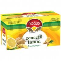 دمنوش زنجبیل و لیمو 20 عددی دوغوش