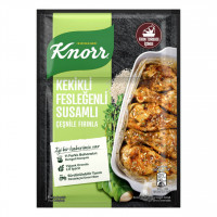 چاشنی ران مرغ کنور حاوی کنجد و آویشن و ریحان 32 گرم Kekikli Feslegenli Susamli Knorr