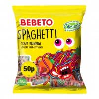 پاستیل ببتو اسپاگتی رنگین کمان برای گیاهخواران 60گرم