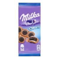 شکلات میلکا اورئو روسی 92 گرمی Milka Oreo