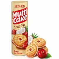 بیسکوئیت کرم دار گیلاس و نارگیل روشن Roshen Multi Cake