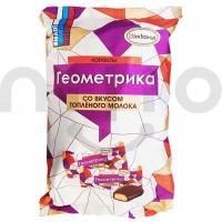 شکلات با مغز وافل شیری روسی بسته نیم کیلویی