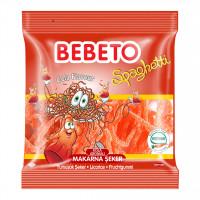 پاستیل شکری رشته ای با طعم نوشابه ببتو Bebeto Cola Spaghetti